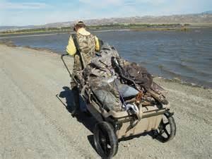 Push Up Blinds Gear Review Ducks Amp Bucks Cart Blind Socalhunt
