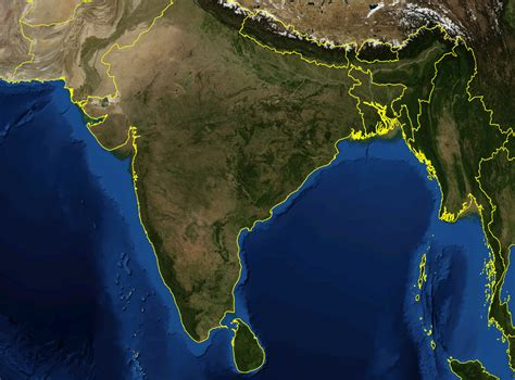 maps satellite image file india satellite image png