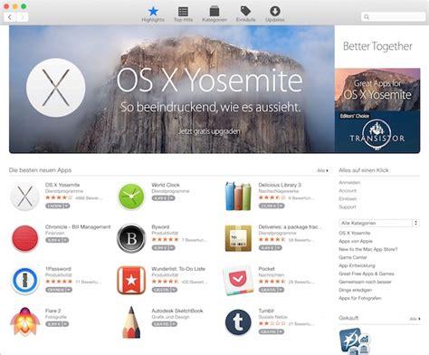 design app store mac app store erh 228 lt facelift macerkopf