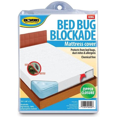 bed bug plastic cover bed bug pillow or mattress cover pad zipper protector dust