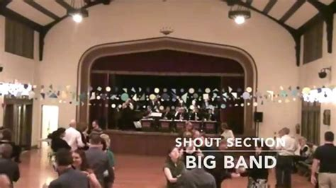 shout section big band shout section big band swing dance chicago st