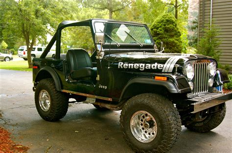 classic jeep renegade 1978 jeep cj7 renegade restored clean v8 classic jeep