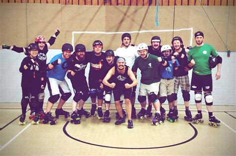 Roller Derby To Bond Its Your Playground by The Ssb B Team Nottingham Roller Derby