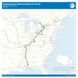 underground to canada map cycling through history on the underground railroad