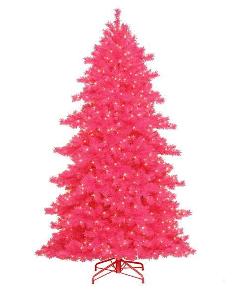 best 28 pink christmas tree some like it hot pink
