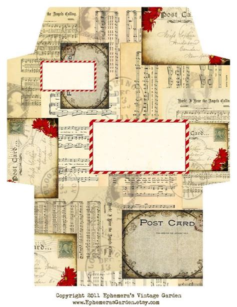 Craft Paper Pattern - vintage by ephemerasgarden paper crafts