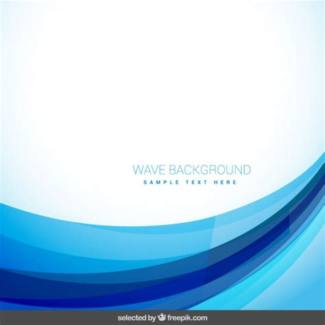 backdrop wave design abstract background with blue wave vector free download