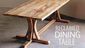 diy rustic farmhouse dining table my crafts and diy projects
