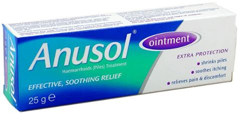Salep Hydrocortisone 2 5 by Anusol Hc Ointment Suppository Patient