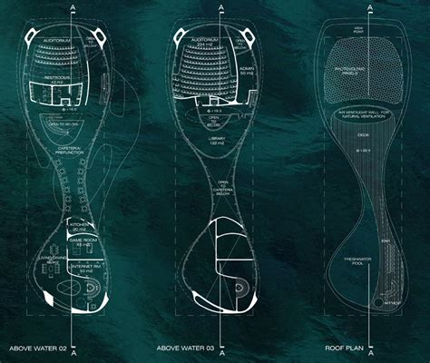 Energy Efficient Floor Plans by Solus4 Marine Research Centre Bali