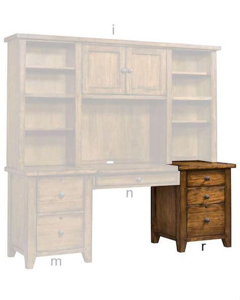 aspen furniture three drawer modular file cross country