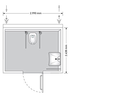 Wash Basin Stand by The Basic Line Wc Container For Individuals With Physical