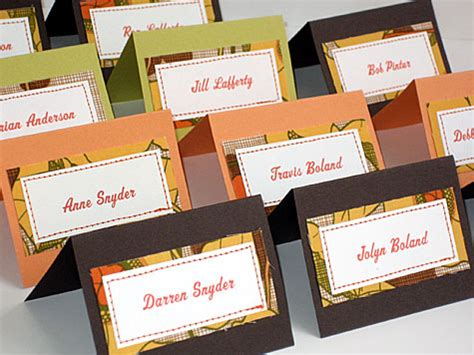 dinner table name cards place cards and how to include guests entree choice