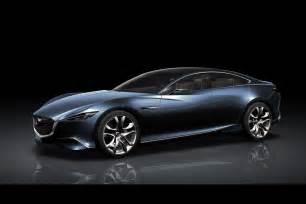 mazda shows shinari four door sports coupe concept