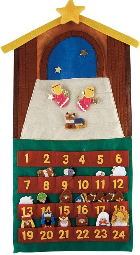 how to make felt nativity advent calendar 25 unique nativity advent calendar ideas on