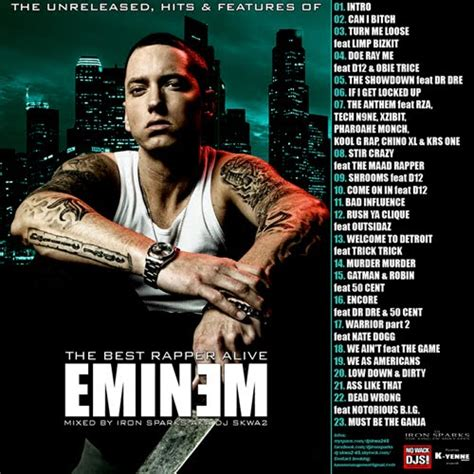 eminem best of all genre songs