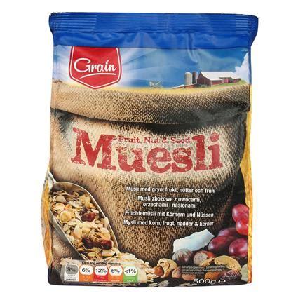 Vegan Muesli Fruit Delight 500 Gr muesli fruit nut seed grain
