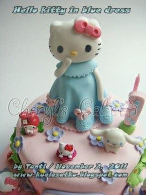 Cetak Kue Wortel Mini 2 In 1 Hello Bentuk Or kue ulang tahun anak cupcake birthday cake hello in blue dress cake