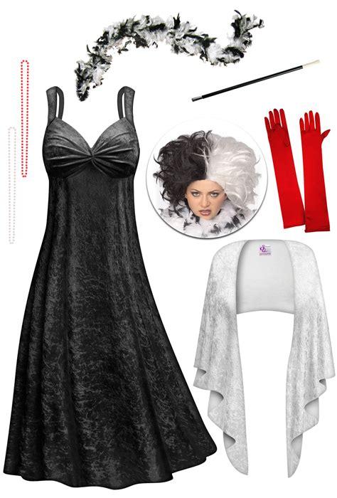 Overall Madame Size Xl sale cruella evil madame plus size supersize costume lg xl 1x 2x 3x 4x 5x 6x 7x 8x