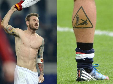 soccer tattoo football soccer players with tattoos on soccer