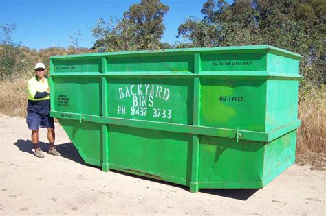backyard bins backyard bins rubbish removal skip bins armadale
