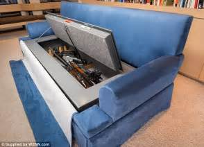 worlds largest couch the world 191 s first bullet proof couch 6 700 191 couchbunker