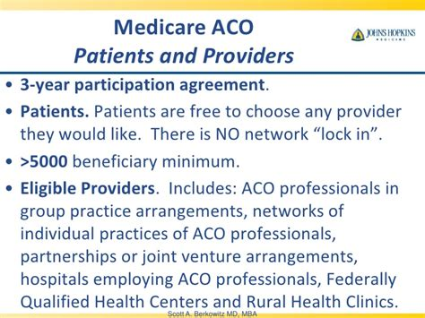Rural Healthcare Mba by Berkowitz Accountable Care Organization Quot Aco