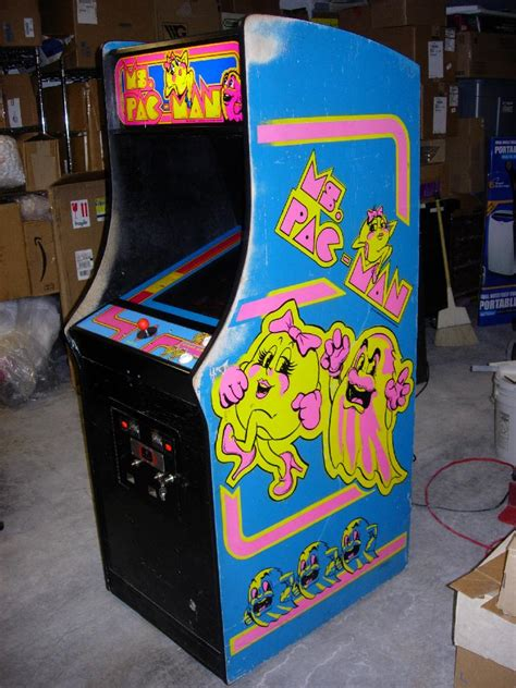 ms pacman arcade cabinet ms pac cabinet