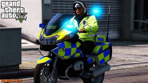 gta british met police bike patrol   p
