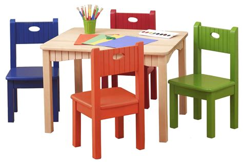 Wooden St Set wooden table set for toddlers wooden table and