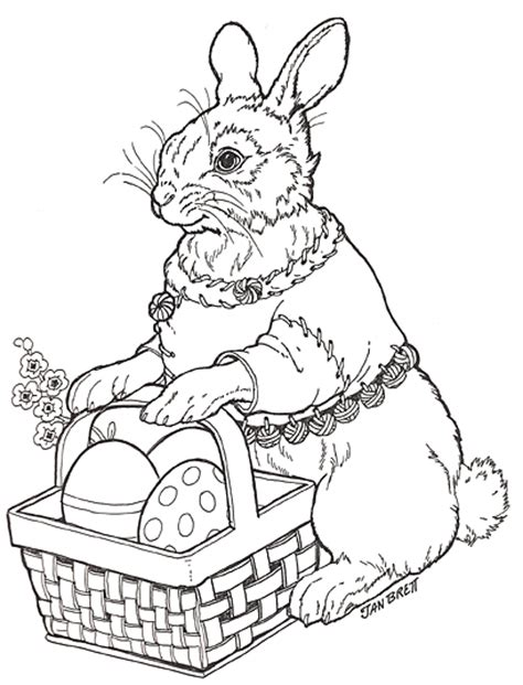 the hat coloring page jan brett free coloring pages