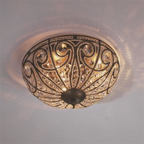Vintage Ceiling Lights Vintage Ceiling Light Large Flush Mount Ceiling Lighting By Shades Of Light