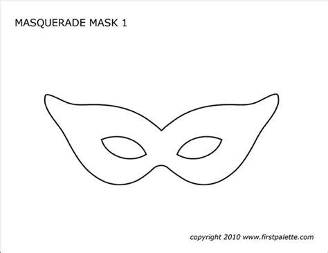 masquerade  mardi gras mask templates  printable