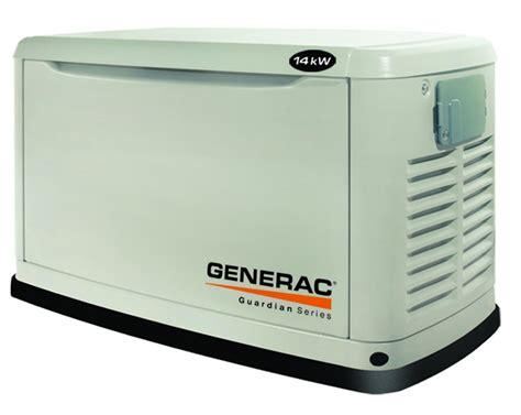 generac guardian 14kw standby generator at norwall
