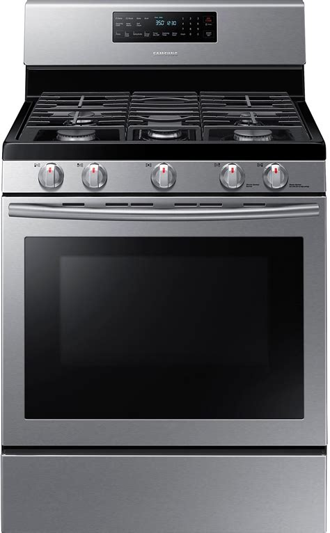 stainless steel range samsung free standing gas range stainless steel the brick