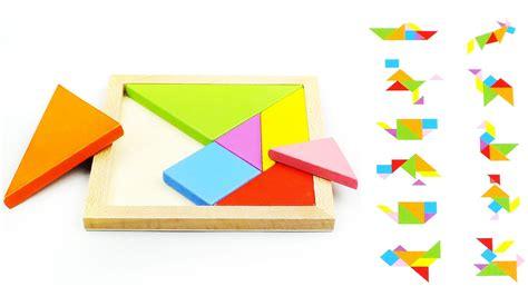 zeka oyunu ahşap yapboz zeka oyunu tangram youtube