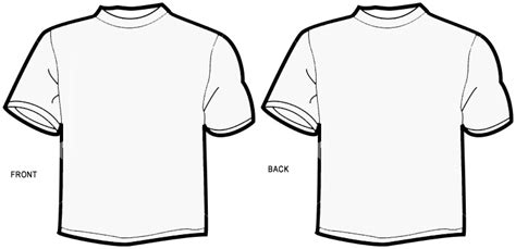 blank shirt template blank t shirt outline cliparts co