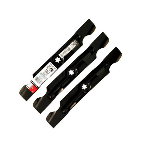 Set Parts Blade mtd genuine factory parts blade set for 50 in lawn tractors 2006 and after and 50 in rzt