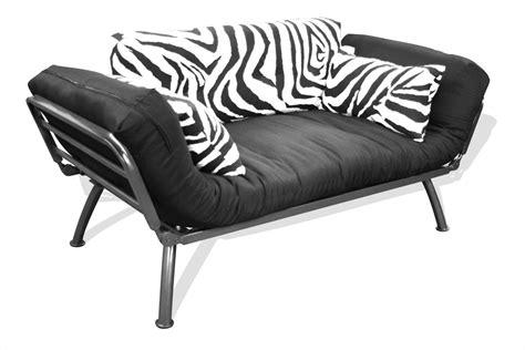 zebra futon american furniture alliance zebra mali soft cushion futon