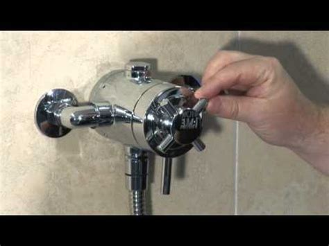 Grohe Bath Shower Mixer Thermostatic mixer showers quot types of mixer shower quot video from triton