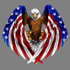 Mens Personalized Dog Tags Flag Eagle Custom T Shirts Inktastic