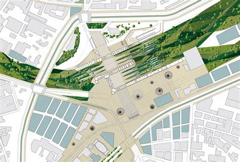 Town Planning ramses square plan zone 3 method design