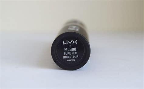 Nyx Black Label Matte New Nyx Tutup Runcing New Black nyx matte lipstick review