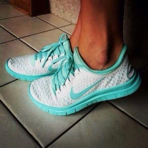 shoes nike white and teal turquoise nike swoosh nike