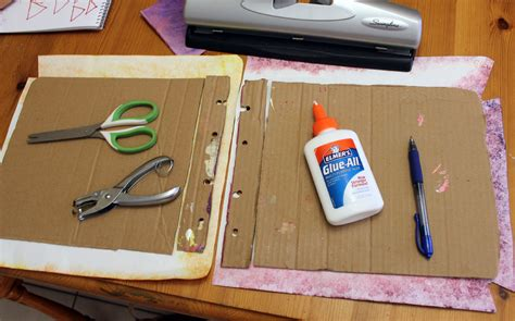 Handmade Book Cover Ideas - ancient book binding craft for children to teach