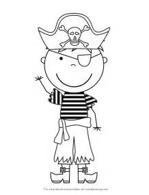 Cute Foxy The Pirate Coloring Page Pages sketch template
