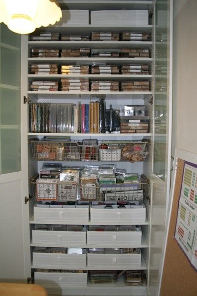 craft room storage ideas ikea sting storage in pax wardrobe from ikea craft room
