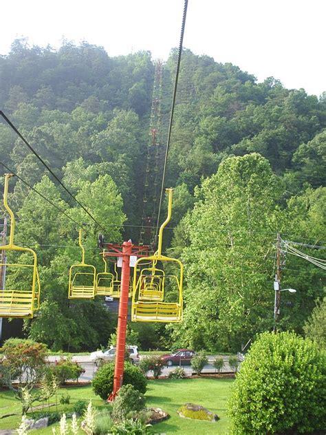 panoramio photo of gatlinburg chair lift