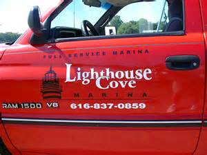 Awning Lettering Compass Design Vehicle Lettering