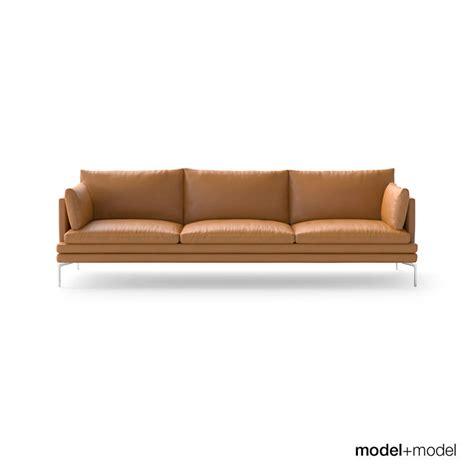 zanotta sofa zanotta william sofas 3d model max obj fbx cgtrader com